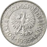 Monnaie, Pologne, Zloty, 1985, Warsaw, TTB, Aluminium, KM:49.1 - Pologne