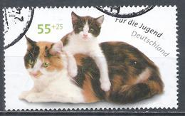 Germany 2004. Scott #B938 (U) Kitten On Cat * - [7] République Fédérale