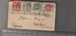 Lsc 1912 - Mignionette Timbres Et Vignette Au Dos - Briefe U. Dokumente