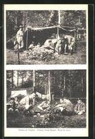 AK Scouts De France, Troupe Saint.Epvre, Sous La Tente - Pfadfinder-Bewegung