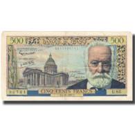 France, 500 Francs, 500 F 1954-1958 ''Victor Hugo'', 1957, 1957-12-05, TTB - 1871-1952 Anciens Francs Circulés Au XXème