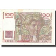 France, 100 Francs, 100 F 1945-1954 ''Jeune Paysan'', 1950, 1950-10-12, TTB+ - 1871-1952 Anciens Francs Circulés Au XXème