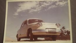 Belle Voiture Ancienne A Bouzereah ( Alger ) 1958 , Format : 8,5 X 12,5 Cm - Automobiles