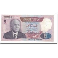 Billet, Tunisie, 5 Dinars, 1983, 1983-11-03, KM:79, TTB - Tunisie