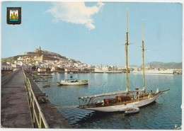 IBIZA, Spain, Puerto, Port, Used Postcard [22055] - Ibiza