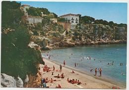 PORTO CRISTO (MALLORCA), Playa, Beach, Spain, 1968 Used Postcard [22056] - Mallorca