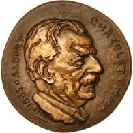 France, Médaille, Politique, Albert Châtelet, Revol, SUP+, Bronze - France