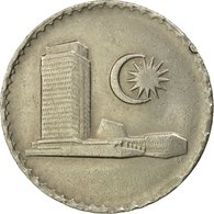 Monnaie, Malaysie, 50 Sen, 1988, Franklin Mint, TB+, Copper-nickel, KM:5.3 - Malaysie