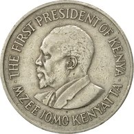 Monnaie, Kenya, Shilling, 1975, TB+, Copper-nickel, KM:14 - Kenya