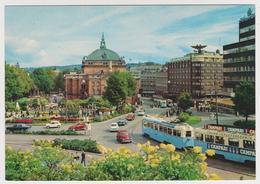 [762] OSLO Slottsparken. Tram, Tramway. Cars, Voitures, Coches, Macchine, Autos. CAMPARI (1960s) . Non écrite. Unwrited. - Noruega