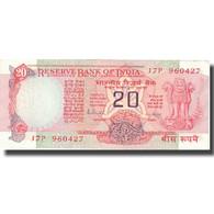 Billet, Inde, 20 Rupees, KM:82g, TTB - Inde