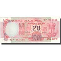 Billet, Inde, 20 Rupees, KM:82g, SUP - Inde