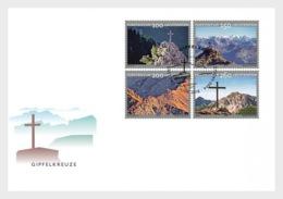 H01 Liechtenstein 2018 Summit Crosses FDC MNH Postfrisch - Liechtenstein