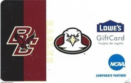 Lowes NCAA Gift Card - Boston College Eagles - Gift Cards