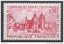 FRANCE 1972 - Y.T. N° 1718 - NEUF** - Ungebraucht