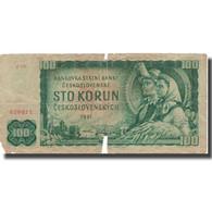 Billet, Tchécoslovaquie, 100 Korun, 1961, 1961, KM:91c, B - Tchéquie