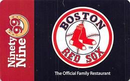 Ninety Nine Restaurant & Pub / Boston Red Sox Gift Card - Gift Cards