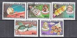 MONGOLIA  C 155-59    (o)  SPACE  SPUTNIK - Space