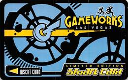 GameWorks Las Vegas Limited Edition Smart Card - Thin Plastic Card - Other Collections