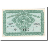 Billet, FRENCH INDO-CHINA, 5 Cents, 1942, KM:88a, SUP - Indochine