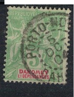 DAHOMEY         N°  YVERT  :     9   ( 2 )      OBLITERE     (OB  3/06 ) - Dahomey (1899-1944)