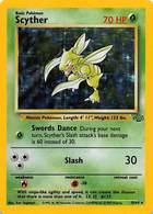 Scyther 70 HP English / Swords Dance / Slash 30 - Pokemon