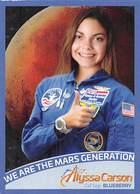 Alyssa Carson - NASA - Blueberry Call Sign - Trading Cards