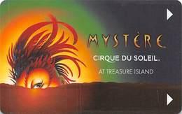 Treasure Island Casino - Las Vegas, NV - Mystere Cirque Du Soleil Hotel Room Key Card - Hotel Keycards