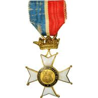 France, Sauveteurs Hospitaliers De Rouen, Médaille, Très Bon état, Gilt - Army & War