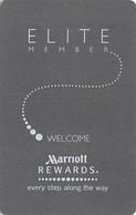 Marriott Hotels Elite Member - RFID Hotel Room Key Card (no Magnetic Stripe) - Hotel Keycards