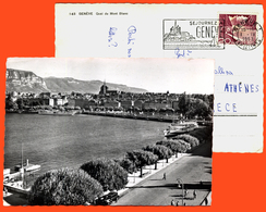 B-8691 Switzerland 1953. Geneva. Posted Postcard. - GE Geneva