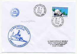 """FRANCE - Enveloppe """"La Rochelle Pallice Accueille L'Abeille Languedoc"""" - 2006 - Marcophilie (Lettres)"""