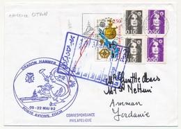 "FRANCE - Enveloppe ""DRAGON HAMMER - Porte Avions Foch 92"" - Marcophilie (Lettres)"