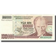 Billet, Turquie, 100,000 Lira, 1970, 1970, KM:205, SUP - Turquie