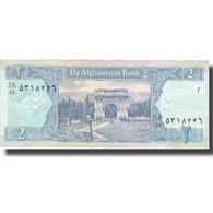 Billet, Afghanistan, 2 Afghanis, 2002, 2002, KM:65a, SUP - Afghanistan