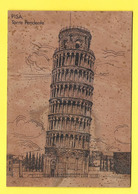 Carte En LIEGE PISA Torre Tendente ( Tour De Pise ) - Other