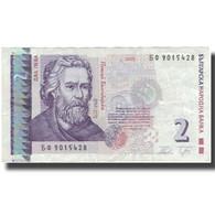 Billet, Bulgarie, 2 Leva, 2005, 2005, KM:115b, TB+ - Bulgarie