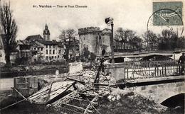Thématiques 2018 Commémoration Fin De Guerre 1914 1918 Meuse 55 Verdun Tour Et  Pont Chaussée - Guerre 1914-18