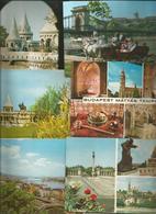 6 CARTOLINE BUDAPEST (48) - Cartoline