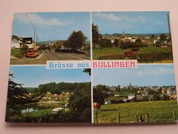 Grüsse Aus BULLINGEN Un Bonjour De ( Lander ) Anno 19?? ( Zie Foto Voor Details ) ! - Büllingen