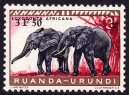 Ruanda 0224** Elephant Surchargé MNH - 1916-22: Neufs