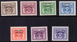 Ruanda TX 0020/26*  1959  H - Ruanda-Urundi