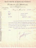 1921 S.A. DES CARRELAGES CERAMIQUES DE PARAY-LE-MONIAL SAONE-&-LOIRE - France
