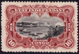 Congo 0017 SG Mols Paysage  Sans Gomme - Without Gum  Dentele 15 Tanding - 1894-1923 Mols: Neufs