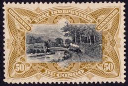 Congo 0025+a SG  Mols Paysage  Sans Gomme - Without Gum - 1894-1923 Mols: Mint/hinged