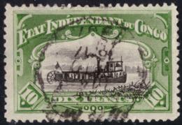 Congo 0029a (o) Mols Paysage 1905 - 1894-1923 Mols: Used