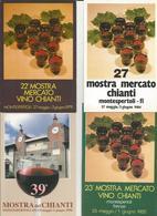 6  CARTOLINE  MOSTRA MERCATO CHIANTI MONTESPERTOLI   (53) - Cartoline