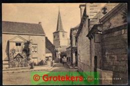 VALKENBURG Kerkstraat Met Katholieke Kerk Ca 1945 ? - Valkenburg