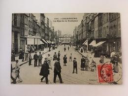 Cherbourg - La Rue De La Fontaine - Cherbourg