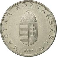 Monnaie, Hongrie, 10 Forint, 2007, TTB, Copper-nickel, KM:695 - Hongrie